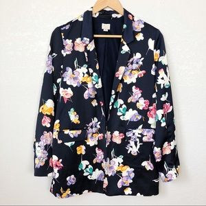 A New Day Long Floral Blazer